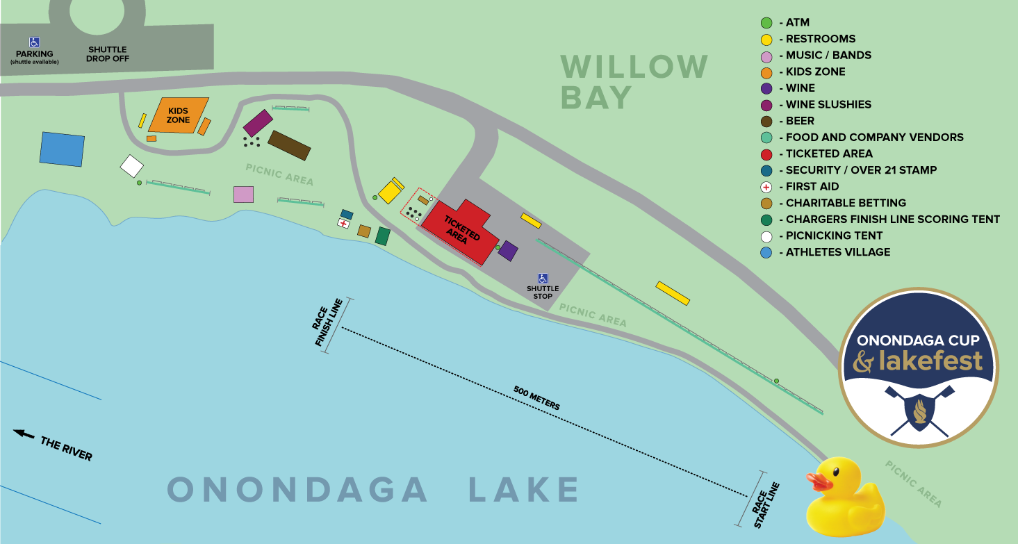 Onondaga Lake Fest guide: From a giant duck to racing, a new way to ...